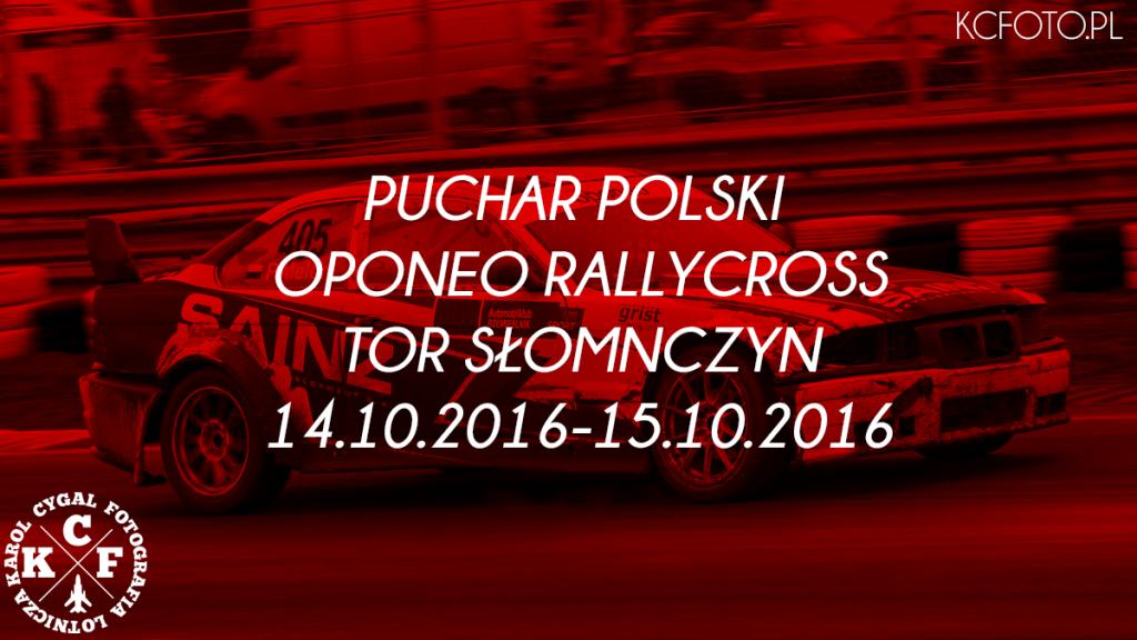 PUCHAR POLSKI OPONEO RALLYCROSS